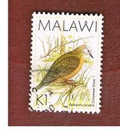 MALAWI - SG 801 - 1988  BIRDS: CINAMMON DOVE  -  USED° - Malawi (1964-...)