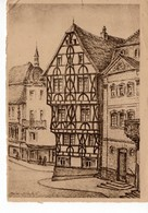 Aschaffenburg - Altes Fachwerkhaus - Zerstörte Denkmäler Bayrischer Kultur - Rotes Kreuz 5 - Aschaffenburg