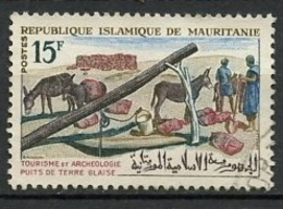 Mauritanie - Mauretanien - Mauritania 1965 Y&T N°195 - Michel N°254 (o) - 15f Puit De Terre Glaise - Mauritania (1960-...)