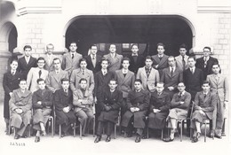 LYCEE DE NICE , 1939-1940, Photo De Groupe Avec Quelques Noms Au Dos - Persone