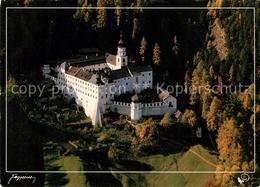 73177169 Burgeis Kloster Marienberg Fliegeraufnahme Burgeis - Italië