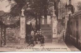 85 LES SABLES-D'OLONNE  Pensionnat N.D. De Bourgenay   Départ Pour La Plage - Sables D'Olonne