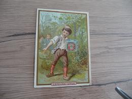 Chromo Ancien Publicitaire Lu Lefèvre Utile Enfants Le Petit Poucet - Lu
