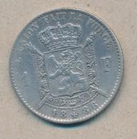 België/Belgique 1 Fr Leopold II 1886 Fr Morin 177a (89347) - 07. 1 Franc