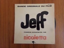 45 TOURS NICOLETTA RIVIERA 231346 DU FILM JEFF ALAIN DELON MIREILLE DARC - Soundtracks, Film Music