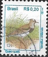 BRAZIL 1994 Birds - 20c Southern Lapwing FU - Brazil