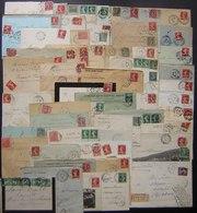 Puy De Dôme, Lot De Plus De 60 Lettres Et Cartes Avant 1921 Différentes Communes, Voir Photos De Détail ! - Storia Postale