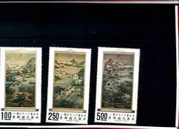 6770B) FORMOSA-1970-TAVOLE DEI 12 MESI DELL'ANNO-3V. -MNH** - 1945-... Repubblica Di Cina