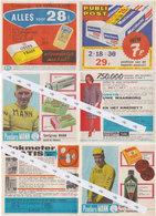 Publicité Toutes Boites Avec Coureurs Cyclistes  1963 - Publicités