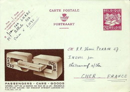 PUBLIBEL INT. 02 - Ostend-Dover - Stamped Stationery