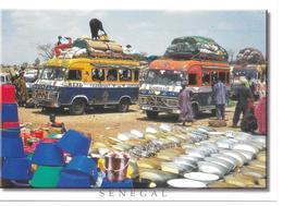 Taxi Brousse Au Marché. (Voir Commentaires) - Postcards