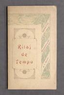 Poesia Dialettale - Ritaj De Tempo Sonetti Romaneschi Di A. Musetti 1^ Ed. 1907 - Otros