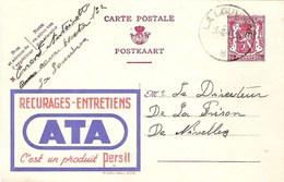 PUBLIBEL 656 - Récurages Et Entretiens ATA - Oblitération De 1947 - Postwaardestukken