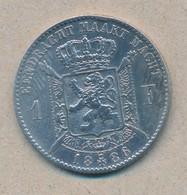 België/Belgique 1 Fr Leopold II 1886 Vl Morin 178 (89348) - 07. 1 Franc