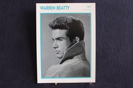 Sp-Acteur,réalisateur, Producteur Et Scénariste Américain, 1960 - Warren Beatty, Né à Richmond Le 30 Mars 1937 - Acteurs