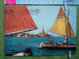 KOV 1-15 - VENEZIA, ITALIA, Isola Di San Giorgio, ISLAND, INSEL, ILE, Sailing Boat, Bateau à Voile, JEDRILICA - Venezia