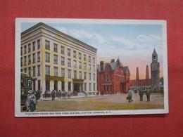 Dickinson House & NY Central Station  Corning New York  >   Ref    3562 - NY - New York