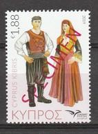 (D0056) Chypre Euromed 2019 Costumes Du Mediterane 2019 SPECIMEN - Costumes