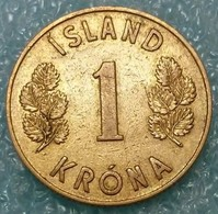 Iceland 1 Krona, 1946 -2194 - Islandia