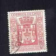 CHILI.(Y&T)   1954 - N°246   *4é Centenaire De La Fondation De La Ville D'Angol..*   2p.  Obl. - Chili