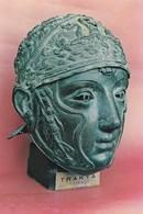 Turkey - 1970/80 - Postcard: Archeology | Bronze Face-helmet, Istanbul Archaeological Museum * - Turquie