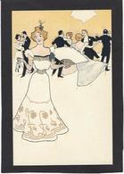 CPA Art Nouveau Femme Girl Women Non Circulé - Women