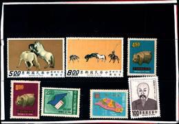 6773B) FORMOSA-LOTTO DI FRANCOBOLLI-MNH** - 1945-... Repubblica Di Cina