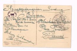 Kriegsgefangenenpost.Expédié Camp De Soltau à Fleurus.Censuré. - Guerre 14-18