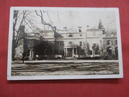 RPPC  Home Of Franklin Roosevelt Hyde Park    New York > New York City >   Ref    3562 - Manhattan