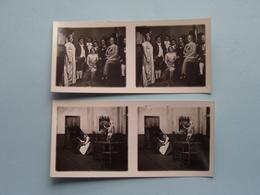 Kon. VLAAMSCHE OPERA Antwerpen ( Série N° 207 ) ANTWERP Stéréo - Ch. DU HOUX ( Zie / Voir Photos ) ! - Photos Stéréoscopiques