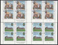 ISLE OF MAN  EUROPA  1980  ** MNH  BLOCK Of  4  GUTTER PAIR - Europa-CEPT