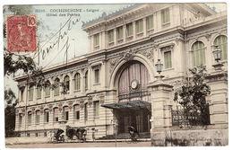 VIET NAM - TONKIN - Saïgon - Hôtel Des Postes - Carte Colorisée - Ed. P. Dieulefils, Hanoi - Vietnam