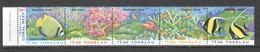 U870 1997 TOKELAU FISH & MARINE LIFE CORAL REEFS 1SET MNH - Vie Marine