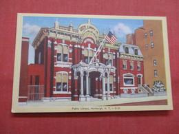 Public Library  Newburgh    New York    Ref    3562 - NY - New York