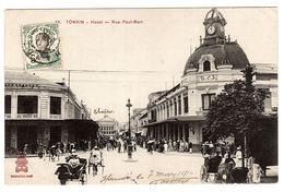 VIET NAM - TONKIN - HANOI - Rue Paul Bert - Ed. P. Dieulefils, Hanoi - Vietnam