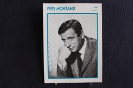 Sp-Acteur,français D'origine Italienne,1960- Yves Montand, Né En 1921 à Monsummano (Italie),mort En 1991 à Senlis France - Acteurs