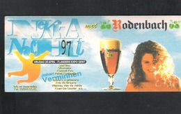 Bierviltje - Sous-bock - Bierdeckel :  RODENBACH     (B 936) - Sotto-boccale