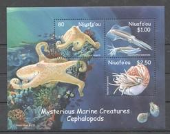 U878 NIUAFO'OU FISH & MARINE LIFE CEPHALOPODS 1KB MNH - Vie Marine