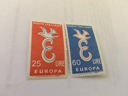 Italy Europa 1958  Mnh - 1946-60: Mint/hinged