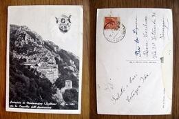 (FG.Y13) AVELLINO - SANTUARIO DI MONTEVERGINE CON LA CAPPELLA DELL'APPARIZIONE (MONTE VERGINE) - Avellino