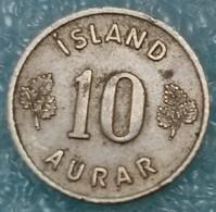 Iceland 10 Aurar, 1958 -0864 - Islandia