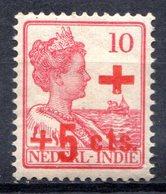 PAYS-BAS - (INDE NEERLANDAISE) - 1915 - N° 120 - + 5 C. S. 10 C. Rose - (Au Profit De La Croix-Rouge) - Nederlands-Indië