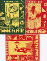 Scoutisme Lot 3 Livres 1960 - Scoutisme