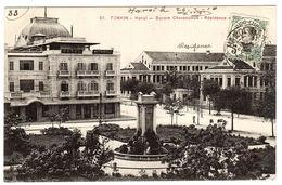 VIET NAM - TONKIN - HANOI - Square Chavassieux - Ed. P. Dieulefils, Hanoi - Vietnam