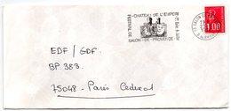 BOUCHES Du RHONE - Dépt N° 13 = SALON De PROVENCE 1976 = FLAMME  SECAP Illustrée ' CHATEAU EMPERI + FESTIVAL' - Mechanical Postmarks (Advertisement)