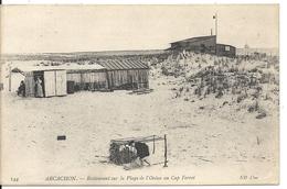 RESTAURANT SUR LA PLAGE DE L' OCEAN AU CAP FERRET - Arcachon