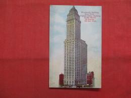 Woolworth Building  - New York > New York City      Ref    3562 - Manhattan