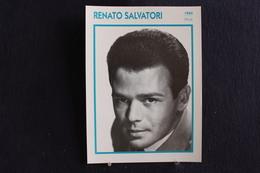 Sp-Acteur, Italien,1960 -  Renato Salvatori, Né Le 20 Mars 1933 à Seravezza (Italie), Et Mort Le 27 Mars 1988 à Rome. - Acteurs