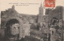 Aude : ALET-les-BAINS : Ruines De La Cathérale St-pierre - Coeur Ogival - France