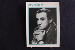 Sp-Acteur,Lino Ventura Est Un Acteur Italien,1965 - Né En 1919 à Parme,Italie Et Mort En 1987 à Saint-Cloud,en France - Acteurs